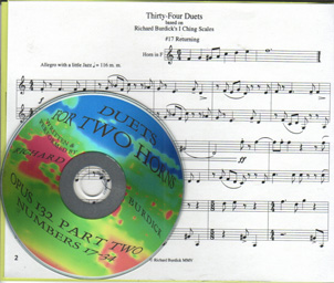 Richard Burdick's CD13 Duets 0pus 132 part 2