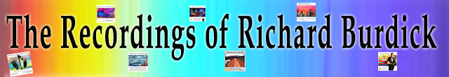 The Cd's of Richard O. Burdick